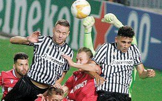 Ο «Δικέφαλος» παραχώρησε ισοπαλία 1-1 στην κυπριακή ομάδα στην πρεμιέρα των ομίλων του Γιουρόπα Λιγκ.