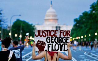 Η δολοφονία του George Floyd δεν έχει κανένα ελαφρυντικό. Είναι στυγνή και εντελώς αδικαιολόγητη. (Φωτ. Α.Ρ.)
