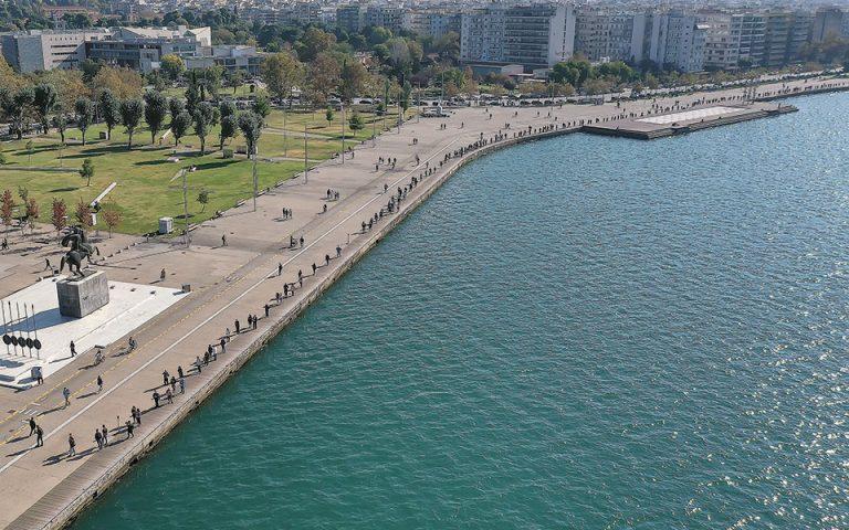 Η Θεσσαλονίκη ανέβηκε στο ανώτατο επίπεδο συναγερμού