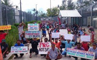 Η Αυστραλία έχει προκαλέσει αντιδράσεις με τη λειτουργία κέντρων κράτησης μεταναστών στην Παπούα Νέα Γουινέα (φωτ. Associated Press).