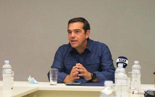 Φωτ. ΑΠΕ-ΜΠΕ/ΓΡΑΦΕΙΟ ΤΥΠΟΥ ΣΥΡΙΖΑ-ΠΣ/ANDREA BONETTI