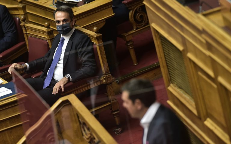 Καταψηφίστηκε η πρόταση μομφής κατά Σταϊκούρα – Αντιπαράθεση για οικονομία και ελληνοτουρκικά