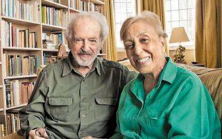 Η Μάττη με τον δεύτερο σύζυγό της, Νίκολας Εγκον.