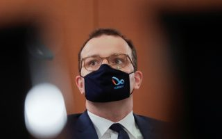 German Health Minister Jens Spahn attends the weekly cabinet meeting of the German government at the chancellery in Berlin, Germany, October 21, 2020. Germany's Health Ministry said that Spahn tested positive on the coronavirus disease (COVID-19) Wednesday afternoon and is now in quarantine at home. Markus Schreiber/Pool via REUTERS