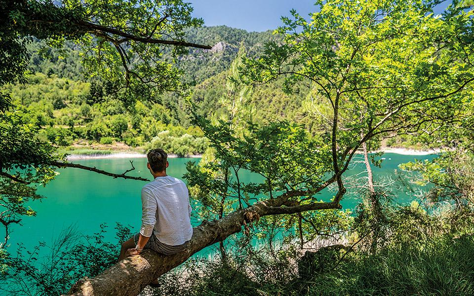 Χάζι στη λίμνη Τσιβλού. © ΝΙΚΟΛΑΣ ΜΑΣΤΟΡΑΣ
