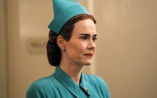 Η Σάρα Πόλσον πρωταγωνιστεί στη σειρά «Ratched» του Netflix.