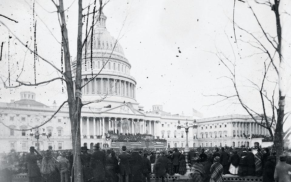 Το κτίριο του Καπιτωλίου στην Ουάσιγκτον του 1877. Ο Ραγκαβής παραδέχεται πως το πολιτικό αποτέλεσμα της αποστολής του εκεί υπήρξε μηδαμινό.