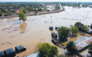 Πλημμυρισμένη έκταση στο Αγναντερό Καρδίτσας. Τα αίτια που προκαλούν καταιγίδες έχουν πλέον αλλάξει και τα φαινόμενα είναι πιο συχνά και πιο ραγδαία. Φωτ. ΑΠΕ-ΜΠΕ / GOLDEN MOVIES / ΠΑΣΧΑΛΗΣ ΜΑΝΤΗΣ