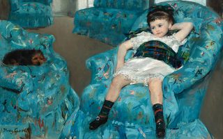 © Mary Cassatt, Little Girl in a Blue Armchair, 1878 National Gallery of Art, Washington, DC