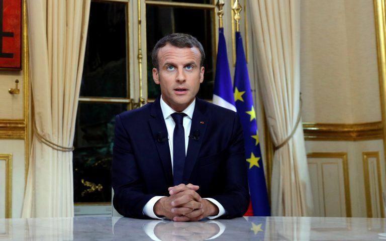 Γαλλία: Ανακοίνωσε lockdown ο Μακρόν