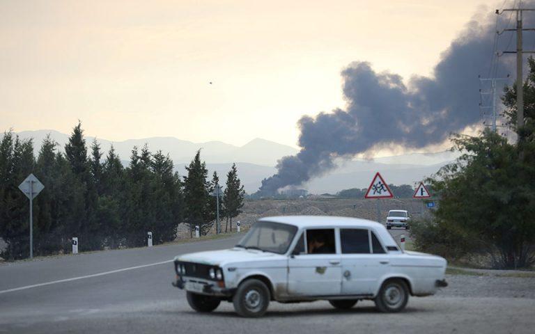 Προειδοποίηση Πομπέο κατά της εμπλοκής τρίτων χωρών στο Ναγκόρνο-Καραμπάχ