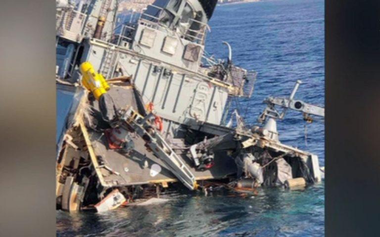 Πρόσκρουση πλοίου του Πολεμικού Ναυτικού με εμπορικό – Σε εξέλιξη η επιχείρηση ρυμούλκησης
