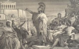 «Οι Αθηναίοι αντιμετώπισαν έναν πολύ χειρότερο λοιμό από οτιδήποτε έχουμε βιώσει, σχεδόν ένας στους τέσσερις πολίτες πέθανε μέσα σε δύο χρόνια. Και όμως, η δημοκρατία δεν φαίνεται να διαταράχθηκε».