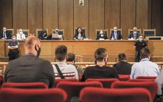 Η αναμενόμενη απόφαση του δικαστηρίου για το ποιοι εκ των καταδικασθέντων σε βαριές ποινές θα πάνε τελικά φυλακή είναι εξίσου σημαντική με εκείνη που έλαβαν οι δικαστές για την ενοχή των κατηγορουμένων αλλά και για τις ποινές που τους επέβαλαν. Φωτ. INTIME NEWS / ΓΙΑΝΝΗΣ ΛΙΑΚΟΣ