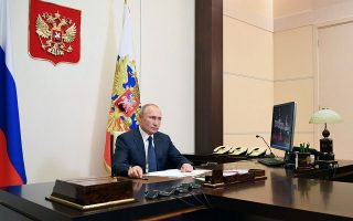 Φωτ. Sputnik/Aleksey Nikolskyi/Kremlin via REUTERS