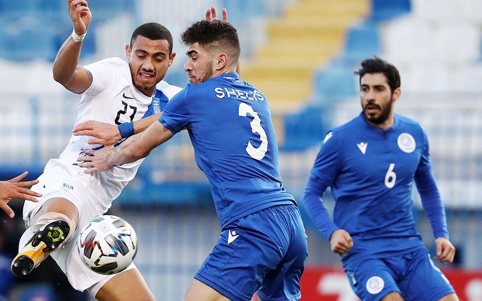 Η ισοπαλία με το Κόσοβο τον περασμένο μήνα στο ΟΑΚΑ υποχρεώνει τους διεθνείς μας να κυνηγήσουν το 2χ2 στα δύο εναπομείναντα παιχνίδια. Πάντως, η εμφάνιση κόντρα στην Κύπρο δημιούργησε πολλές ελπίδες (φωτ. INTIMENEWS).