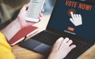 Η ευκολία της ηλεκτρονικής ψήφου δίνει τη δυνατότητα στους νέους  να εκφραστούν με τον τρόπο που το κάνουν στις άλλες τους δραστηριότητες.