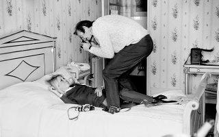 Λονδίνο, 1968: με την Μπριζίτ Μπαρντό, στα γυρίσματα της ταινίας «Shalako». Στιγμιότυπο που απαθανάτισε ο φωτογράφος Τέρι Ο' Νιλ.