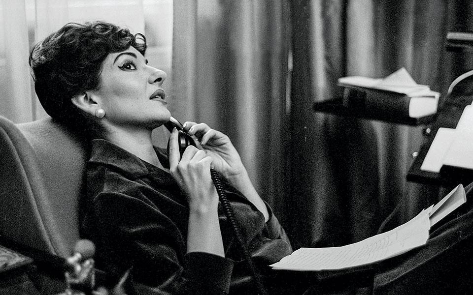 Φωτογραφίες: © Fonds de dotation Maria Callas