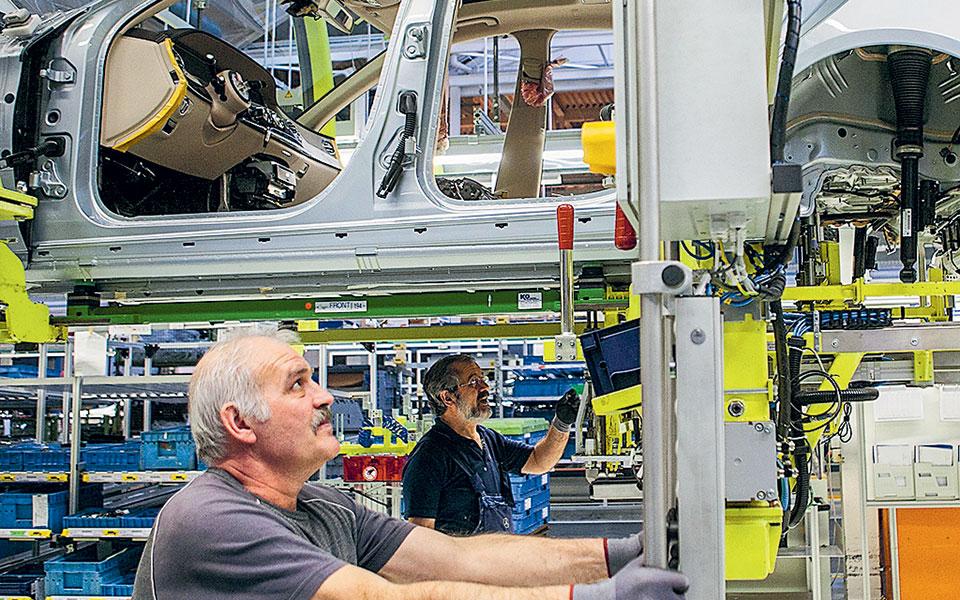 Σε επίπεδα-ρεκόρ η αύξηση των παραγγελιών στα εργοστάσια της Γερμανίας τον Οκτώβριο.