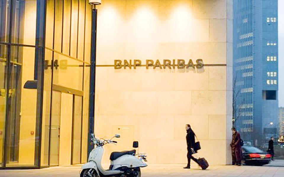 Η μετοχή της γαλλικής τράπεζας BNP Paribas έκανε άλμα 6,1%.