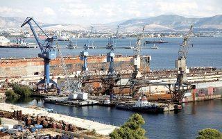 Εντός του 2020, τόσο ο ισχυρός άνδρας των ναυπηγείων, Νίκος Ταβουλάρης, όσο και οι άλλοι βασικοί μέτοχοι της «Νεώριο Συμμετοχών», εξαιρουμένης της AXIS, μεταβίβασαν τις μετοχές τους στην ONEX προκειμένου να προχωρήσει η διαδικασία εξυγίανσης των Ναυπηγείων Ελευσίνας.