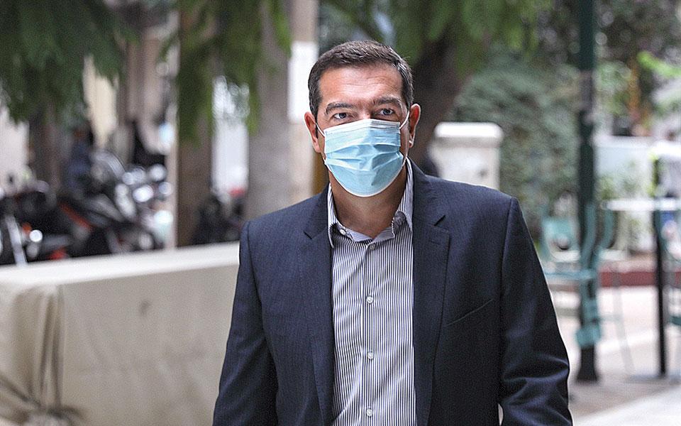 Ο Αλέξης Τσίπρας κατηγόρησε την κυβέρνηση για «εμπόριο ελπίδας» με ευχές για ένα εμβόλιο που ακόμη δεν υπάρχει (φωτ. INTIME NEWS).