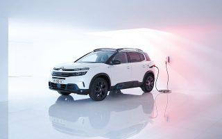Το νέο Citroën C5 Aircross Plug-in Hybrid.