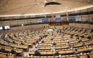 Οι «27» συμφώνησαν χθες επί του μηχανισμού σύνδεσης της εκταμίευσης των ευρωπαϊκών πόρων με το κράτος δικαίου, αίροντας τα βασικά εμπόδια για την έγκριση του ευρωπαϊκού προϋπολογισμού και του σχεδίου ανάκαμψης απέναντι στην πανδημία του κορωνοϊού (φωτογραφία αρχείου).