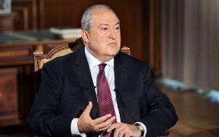 «Tο Αζερμπαϊτζάν μπορεί να απολαμβάνει την τουρκική στήριξη εναντίον του Ναγκόρνο-Καραμπάχ, αλλά μεσοπρόθεσμα και μακροπρόθεσμα θα αποτύχει. Μόνο τότε θα αντιληφθεί σε ποια έκταση θα έχει μετατραπεί σε μαριονέτα της Τουρκίας στον Καύκασο», λέει ο Αρμέν Σαρκισιάν.