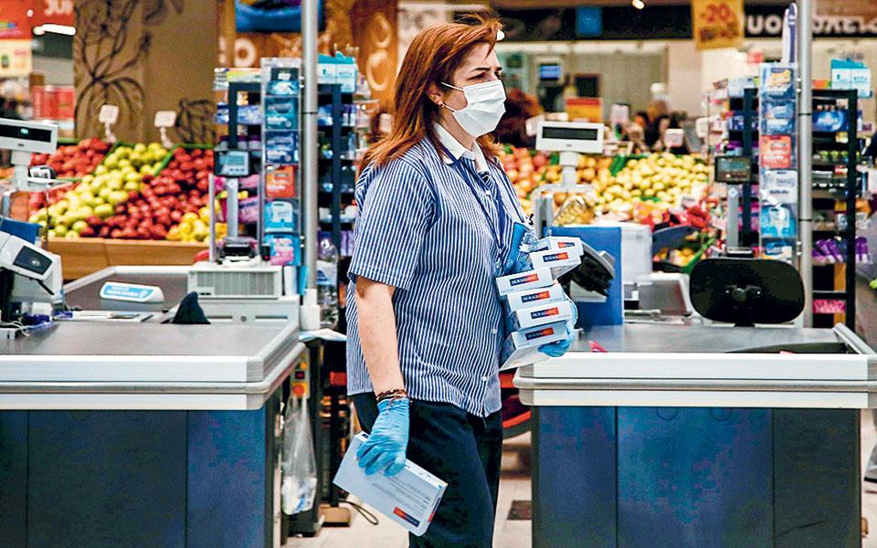 Στο διάστημα από 24 Φεβρουαρίου έως 17 Μαΐου οι πωλήσεις των προϊόντων bazaar στα σούπερ μάρκετ αυξήθηκαν κατά 24,3% σε σύγκριση με το αντίστοιχο διάστημα του 2019.