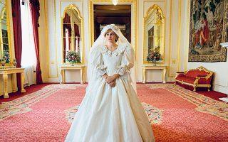 H Εμα Κόριν υποδύεται την πριγκίπισσα Νταϊάνα, στην τέταρτη σεζόν της επιτυχημένης σειράς «The Crown».