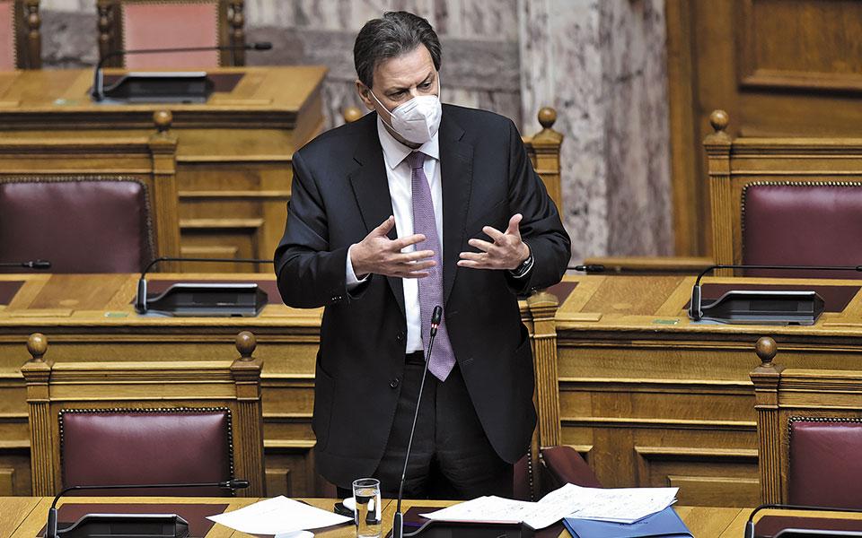 «Η ανάκαμψη μπορεί και θα είναι δυναμική», ανέφερε ο αναπληρωτής υπουργός Θεόδωρος Σκυλακάκης στη Βουλή, προσθέτοντας ότι θα βγούμε από την κρίση το δεύτερο τρίμηνο του 2021.
