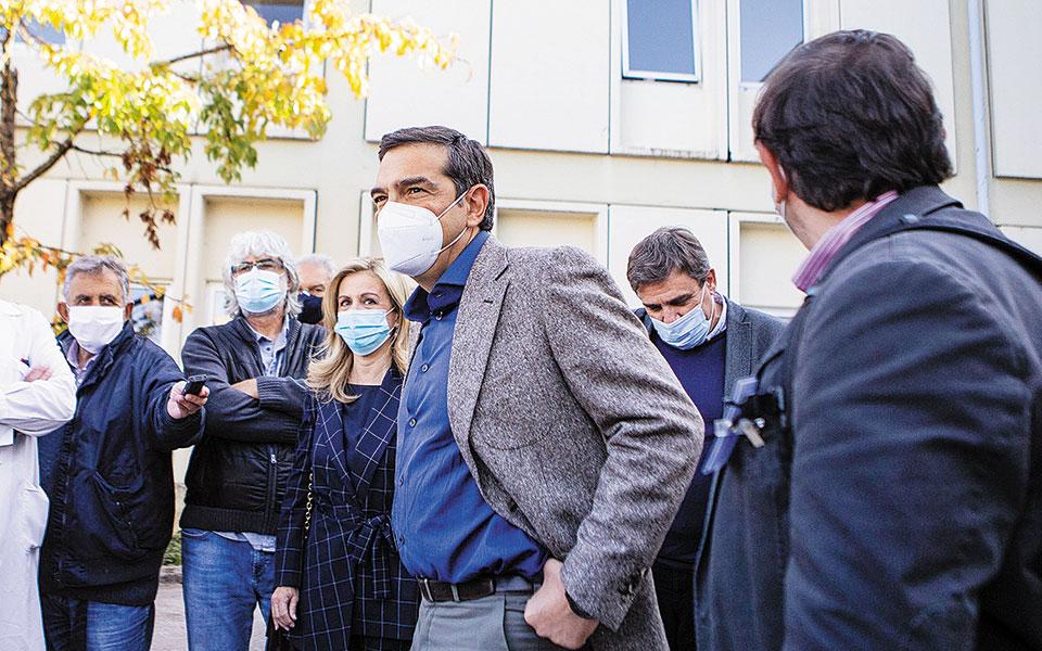 Από το νοσοκομείο των Ιωαννίνων, ο Αλ. Τσίπρας κατηγόρησε την κυβέρνηση ότι αντιμετώπισε την πανδημία «με εγκληματική ολιγωρία».