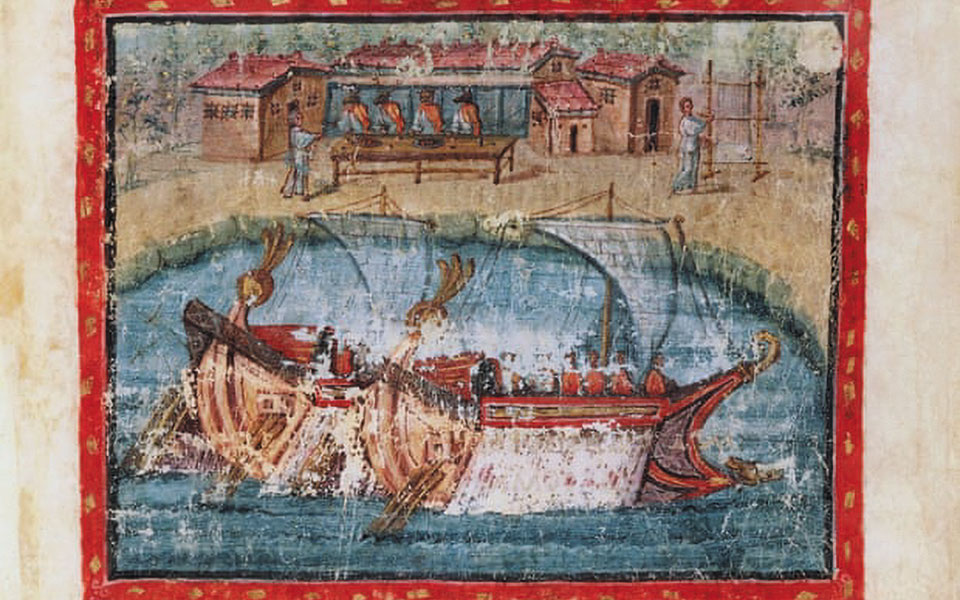 Εικονογραφημένη έκδοση της «Αινειάδας» του Βιργιλίου, ηλικίας 1.600 ετών.