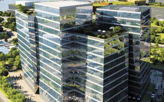 Ο κολοσσιαίος Πύργος Τέχνης της Σαγκάης θα φιλοξενεί 20 διεθνείς γκαλερί.