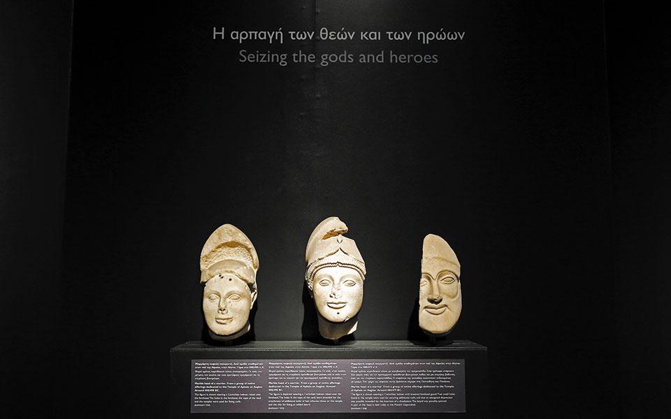 «Δι' αυτά πολεμήσαμεν... Αρχαιότητες και Ελληνική Επανάσταση», στο Εθνικό Αρχαιολογικό Μουσείο.
