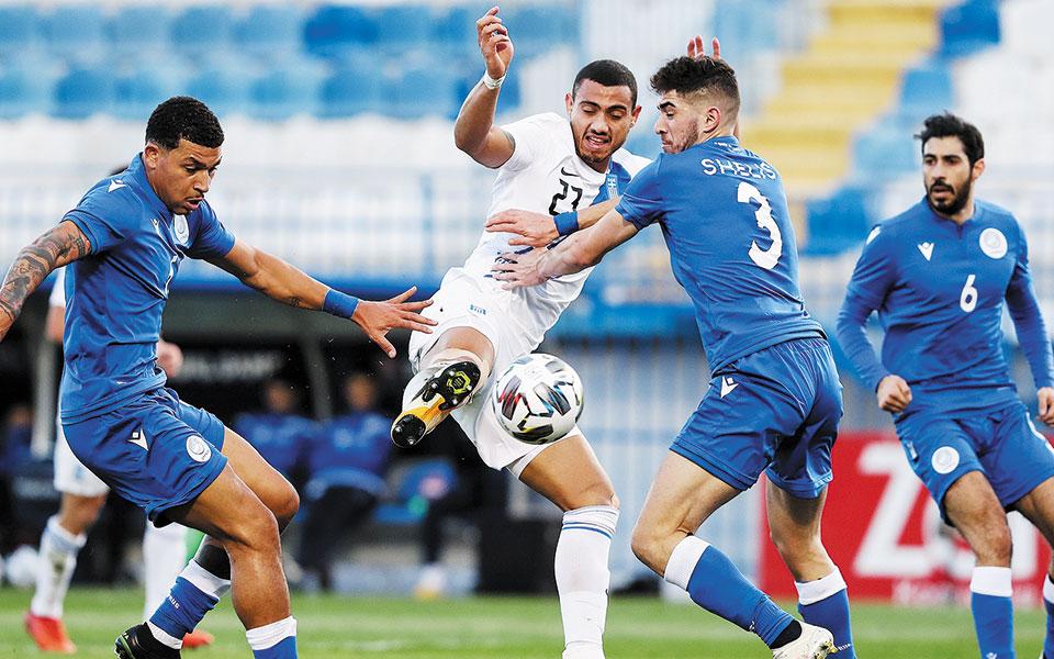 Με πολλές τελικές προσπάθειες αλλά μόλις δύο γκολ η Εθνική έδωσε την ευκαιρία στον Φαντ Σιπ να βγάλει πολύτιμα συμπεράσματα ενόψει των δύο τελευταίων αγώνων στο Nation League, με τη Μολδαβία εκτός έδρας και τη Σλοβενία στην Τούμπα (φωτ. INTIMENEWS).