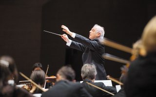Ο Ντάνιελ Μπάρενμποϊμ: μαζί με την ορχήστρα Staatskapelle Berlin, θα ερμηνεύσουν από την Κρατική Οπερα του Βερολίνου έργα Μπετόβεν.