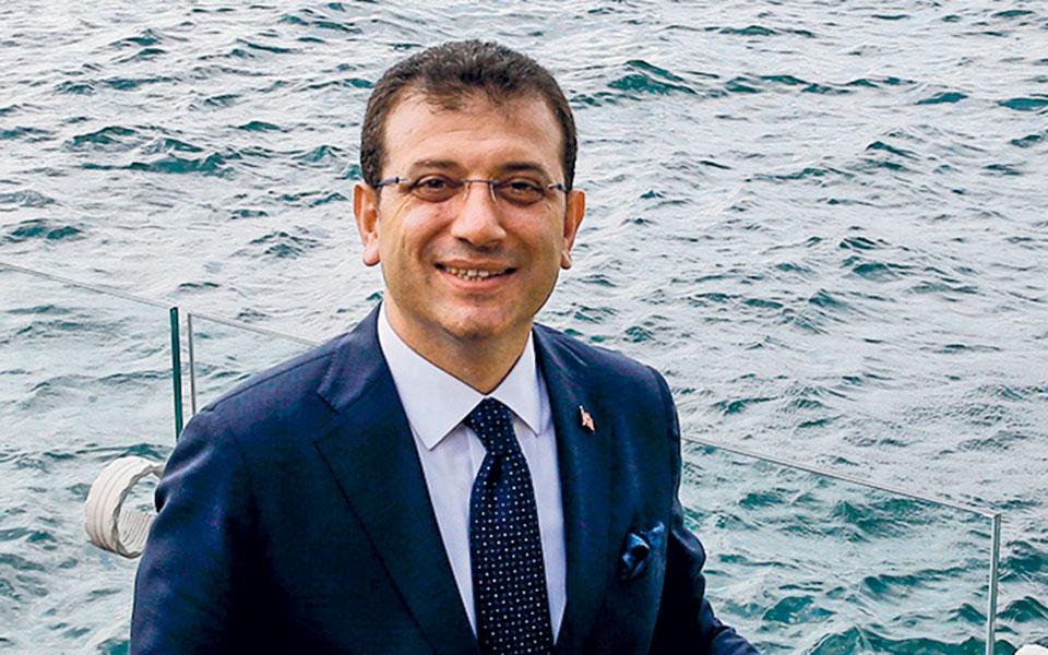 Ο δήμαρχος της Κωνσταντινούπολης Εκρέμ Ιμάμογλου (φωτ. Α.Ρ.).