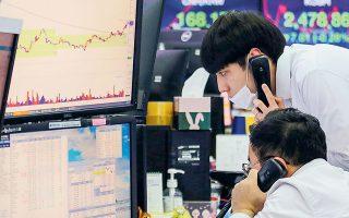 Τις ελπίδες ενίσχυσαν επιπλέον και τα στοιχεία που κατατείνουν σε ταχύτατη ανάκαμψη των οικονομιών της Ασίας.