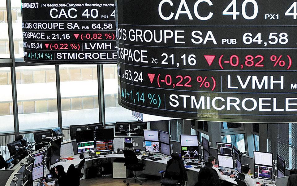 Στο χρηματιστήριο του Παρισιού, ο δείκτης CAC 40 υποχώρησε κατά 1,70%.