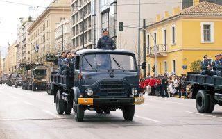 Επειτα από 50 και πλέον χρόνια ευδοκίμου υπηρεσίας στις ελληνικές Ενοπλες Δυνάμεις, τα θρυλικά φορτηγά Στάγιερ «αποστρατεύονται».
