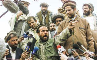 Μαχητής του Ισλάμ εξηγεί στην προοδευτική Ευρώπη τη Δημοκρατία. ASSOCIATED PRESS