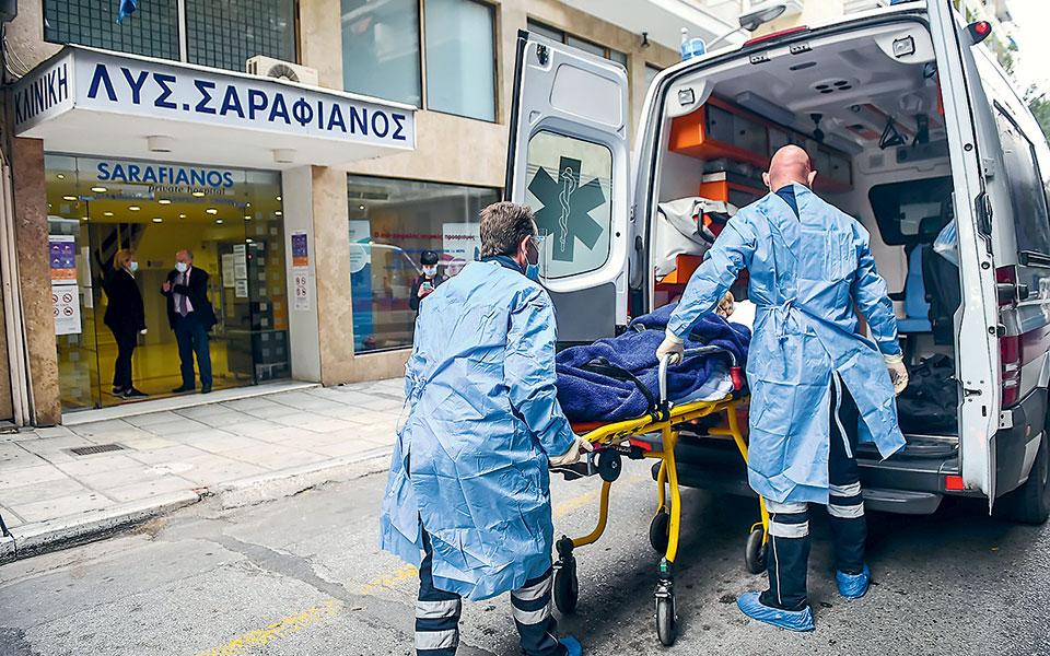 Η συνεχόμενη αύξηση των εισαγωγών ασθενών με κορωνοϊό σε νοσοκομεία, κυρίως της Βόρειας Ελλάδας, οδήγησε στην επίταξη δύο ιδιωτικών κλινικών στη Θεσσαλονίκη, της Γενικής Κλινικής «Λυσίμαχος Σαραφιανός» και της Euromedica (φωτ. INTIME NEWS).