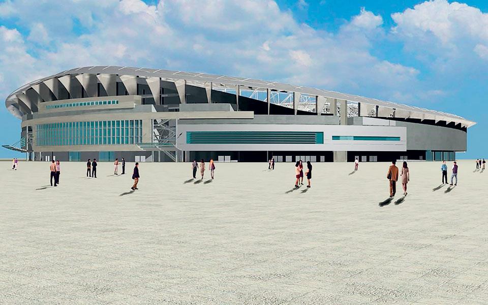 Το γήπεδο που θα κατασκευαστεί θα είναι χωρητικότητας 40.000 ατόμων.