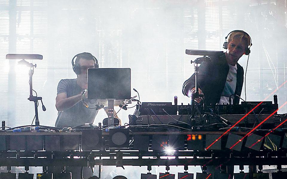 Το ντούο των Groove Armada.