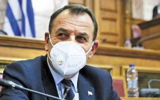 Ο υπουργός Εθνικής Αμυνας Νίκος Παναγιωτόπουλος.