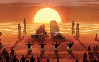 Συμμετέχοντας στην κατηγορία του μικρού μήκους animation, το «Kapaemahu» μας ταξιδεύει στις αρχαίες χαβανέζικες παραδόσεις.