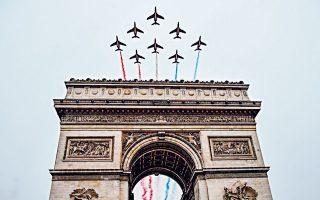 Η Αψίδα του Θριάμβου, στο Παρίσι, κέντρο κάθε επετείου.